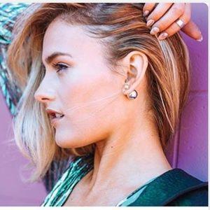 Marble Ear Ring Set